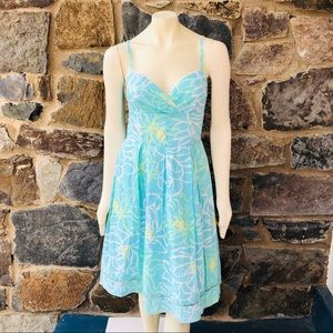 Vintage Lilly Pulitzer heart of palm dress size 6